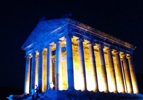 アルメニア、ガルニー神殿